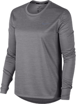 Miler Top LS Grey