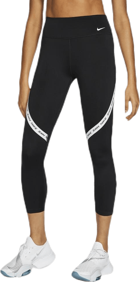 One Tight Crop Novelty White/Black