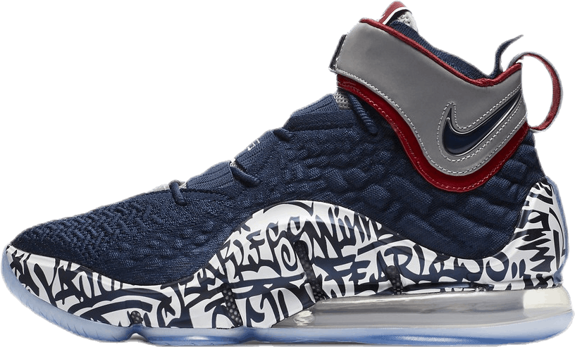 Lebron Xvii Fp - Grafitti Remix Midnight Navy/White-Varsity Crimson