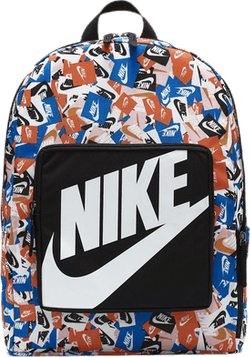 Jr Classic Printed Backpack Patterned/White/Black