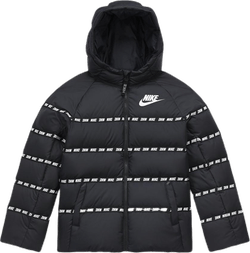 Jr Down Jacket White/Black