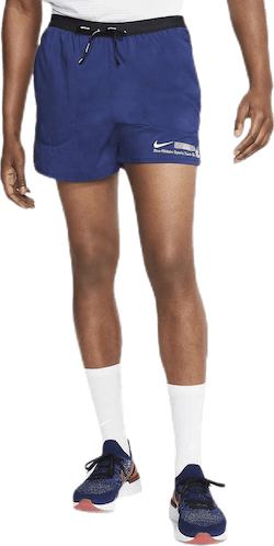Flex Stride Short 5in BRS Blue/White