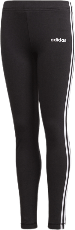 Essential 3 Stripe Tights Youth White/Black