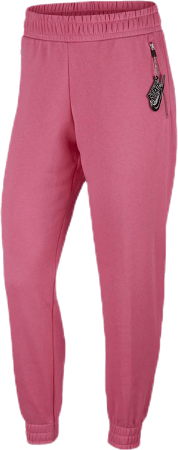 Nsw Air Pant 7/8 Bb Flc Pink/Black