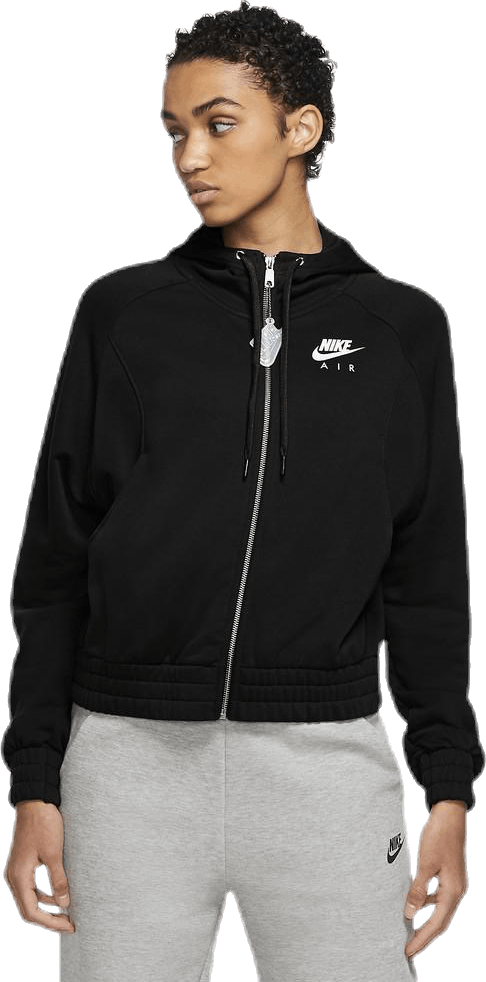 Nsw Air Hoodie Fz Bb Flc White/Black