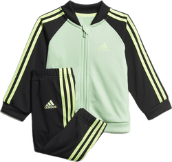 3 Stripe Tracksuit TRIC Infant Blue/Green