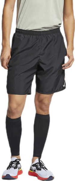 "Challenger 9"" Brief-Line Short Black/Silver"