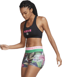 Swoosh Icon Clach Band Bra Pink/Black