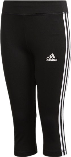 TR EQ 3 Stripe Capri Youth White/Black