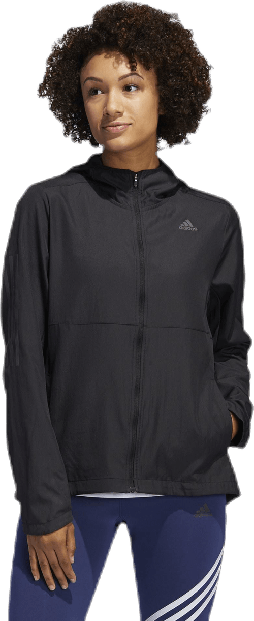 Own The Run Jacket Black