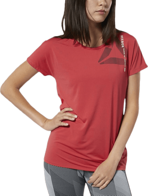 ACTIVCHILL Graphic Tee Red