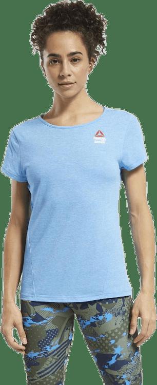Reebok CrossFit® Games ACTIVCHILL+COTTON T-Shirt Blue