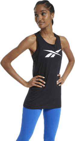 TE Graphic Vector Tank Black
