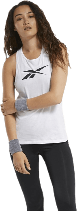 TE Graphic Vector Tank White