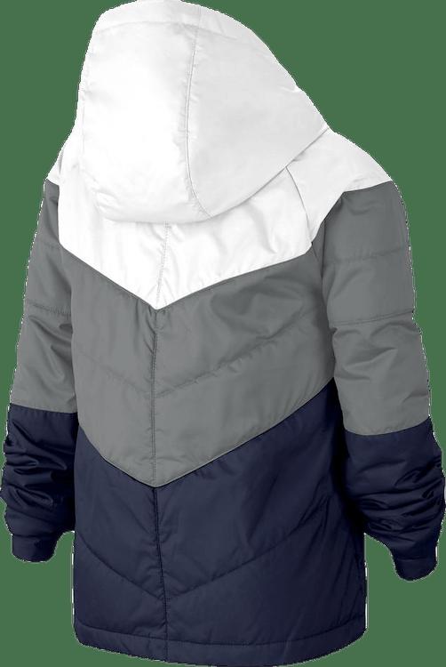 Jr NSW Stadium Jacket Blue/White/Grey