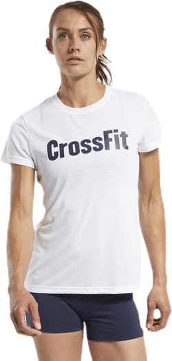 RC CrossFit Read Tee White