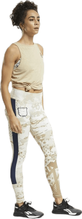 Reebok CrossFit® ACTIVCHILL+COTTON Tank Top Beige