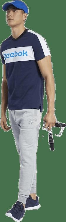 Training Essentials Linear Logo Graphic T-Shirt Blue