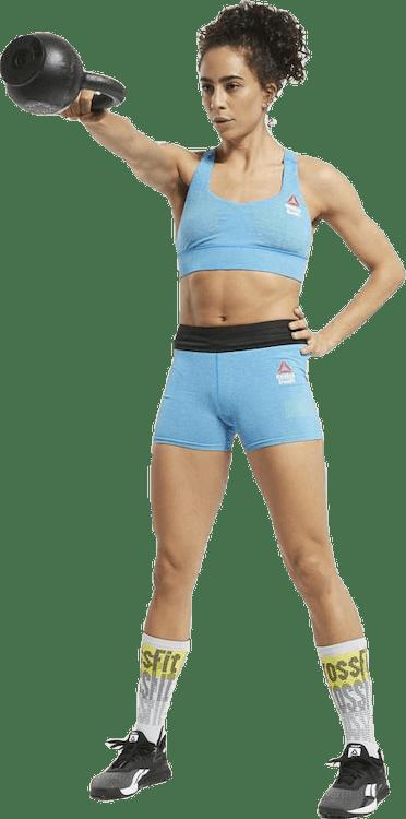 Reebok CrossFit® Games MyoKnit Medium-Impact Bra Blue