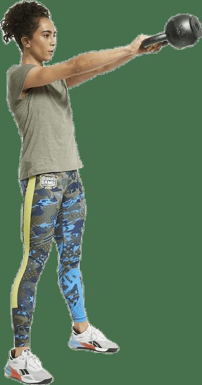 Reebok CrossFit® Games ACTIVCHILL+COTTON T-Shirt Green