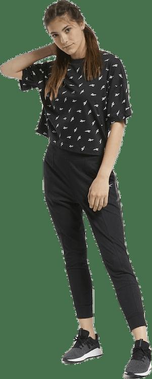 Allover Vector T-Shirt Black