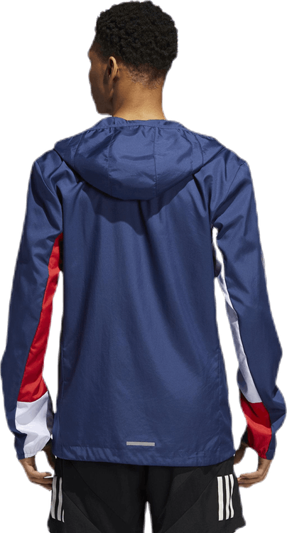 Own The Run Jacket Blue