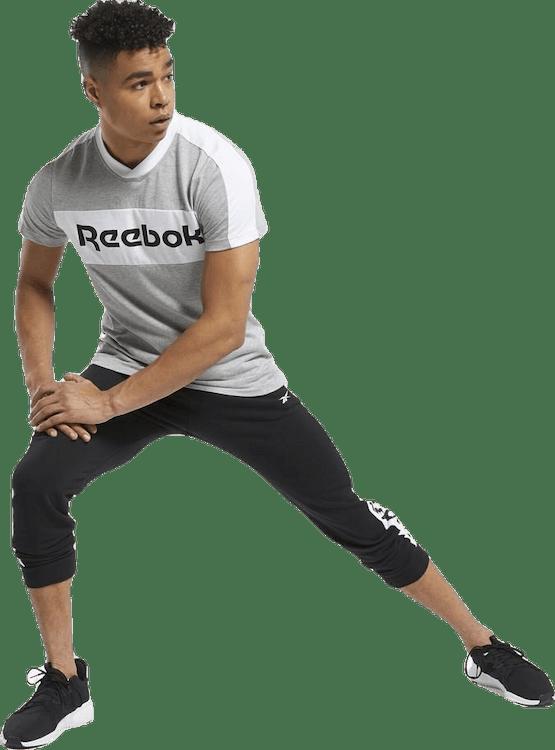 Training Essentials Linear Logo Graphic T-Shirt Grey