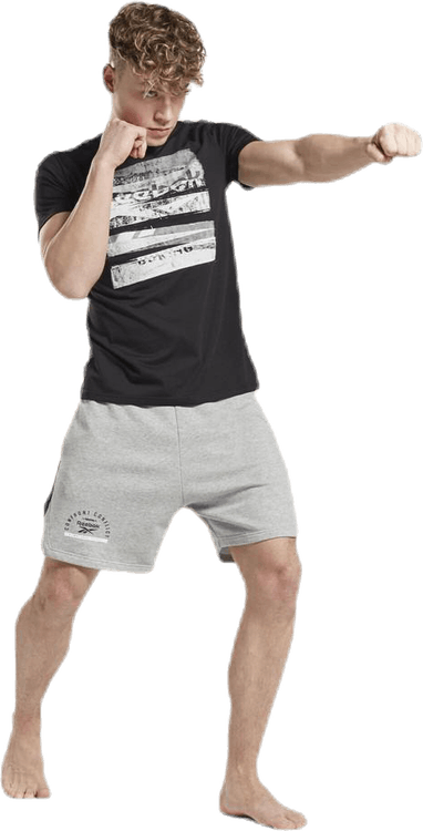 Combat Boxing Shorts Grey