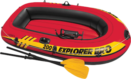 Explorer Pro 200 Boat Set Yellow/Red