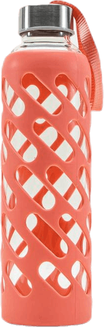 Sure Grip Glass Water Bottle Guava Pink