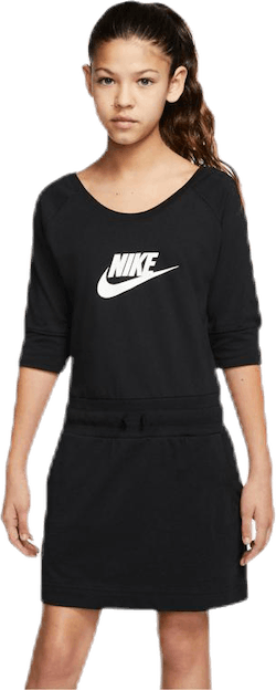 Swoosh Jersey Dress Jr Black