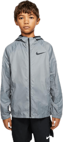 Woven Training Jacket Jr Grey