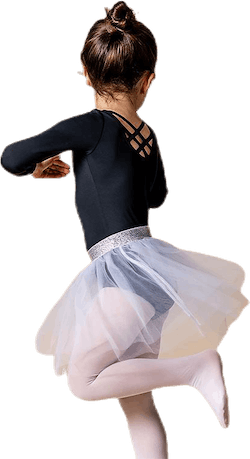 Symone Dance Skirt White