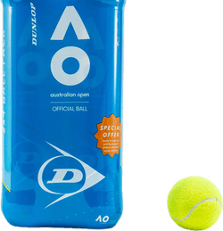 Dunlop Australian Open 4B 2-PACK Yellow