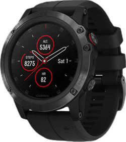 Fenix 5X Plus Black