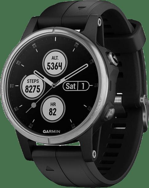 Fenix 5S Plus Black/Grey