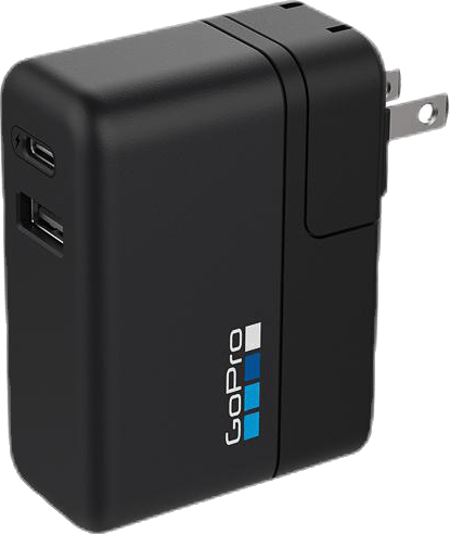 Supercharger (Dual Port Fast Charger) Black
