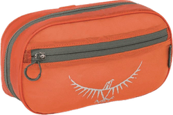 Ultralight Washbag Zip Orange