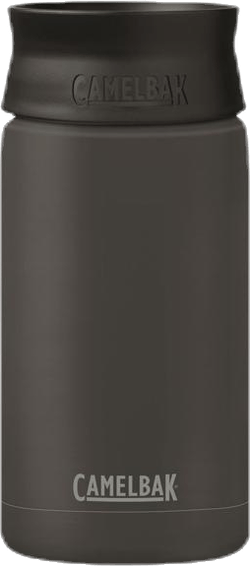 Hot Cap Vacuum Stainless 12oz Black
