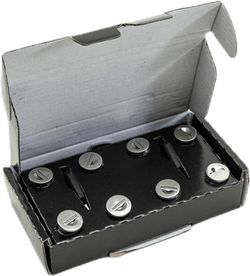 One Key System 8-Pack Black