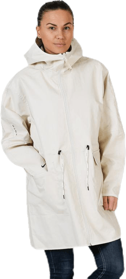 Tech Woven Jacket White