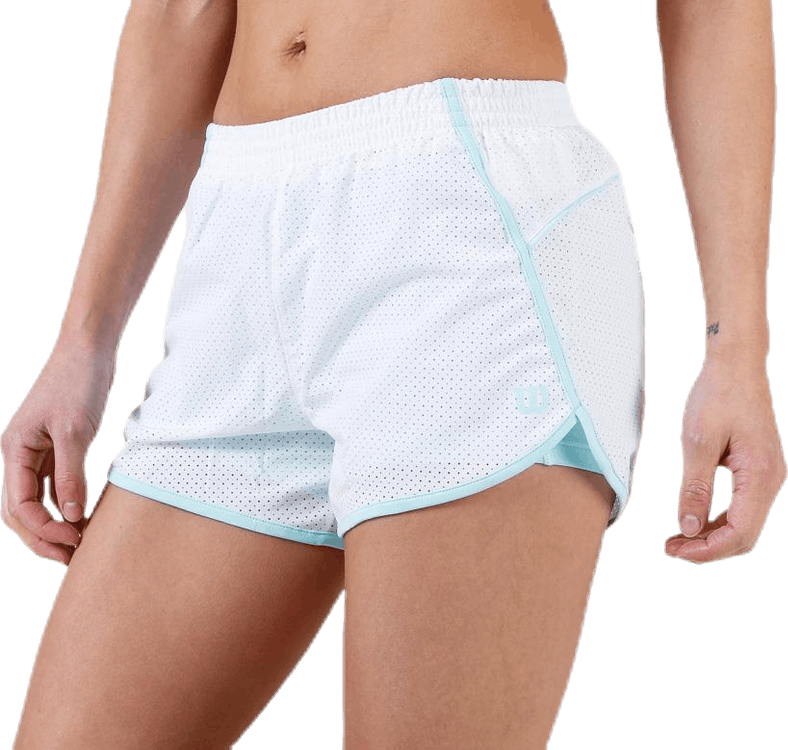 Competition Woven 3.5 Short White/Turquoise