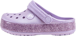 Crocband Glitter Clog K Purple