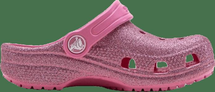 Classic Glitter Clog K Pink
