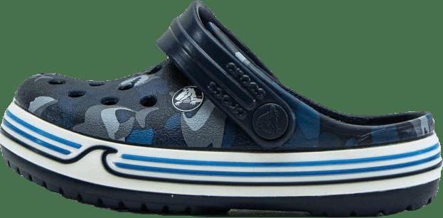 Crocband Shark Clog PS Blue