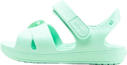 Classic Cross Strap Sandal PS Green