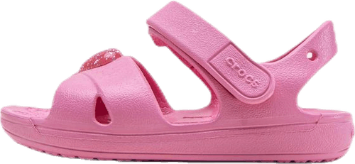 Classic Cross Strap Sandal PS Pink