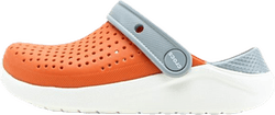 LiteRide Clog K Orange/White