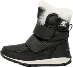 Childrens Whitney Velcro Black