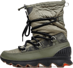 Kinetic Boot Black/Green